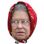The Queen Headscarf - Celebrity Mask