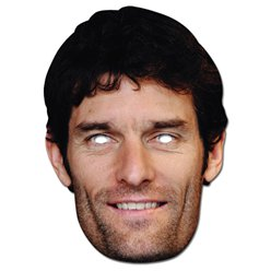 Mark Webber - Celebrity Mask