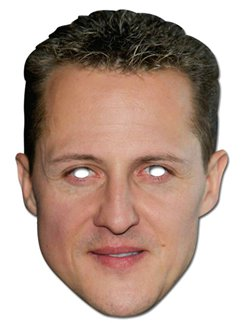Michael Schumacher Mask