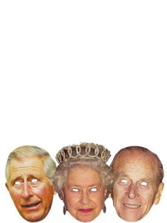Royal Family - The Queen, Prince Phillip & Prince Charles