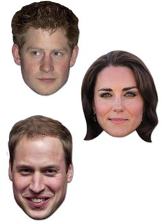 Royal Young Ones - William, Harry & Kate