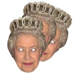The Queen - Celebrity Mask