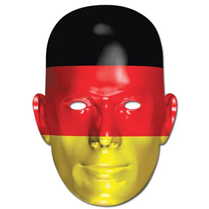 German Flag Mask - Flag Face Mask front