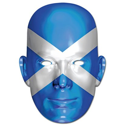 Scottish Flag Mask - Flag Face Mask front
