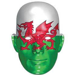 St David's Welsh Flag Mask