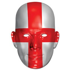 England Flag Mask