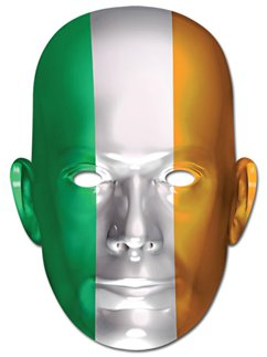Irish Flag Mask