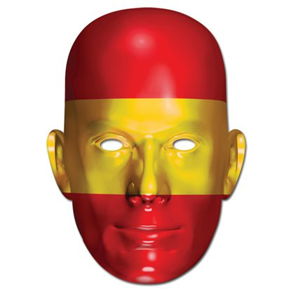 Spanish Flag Mask - Flag Face Mask front