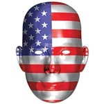 USA American Flag Mask - 4th July