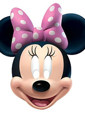 Minnie Mouse - Kids Party Masks front
