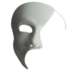 White Phantom Masquerade Mask