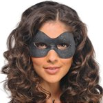 Black Cosmopolitan Eye Mask