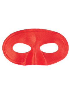 Red Masquerade Eye Mask