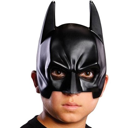 Batman Child Mask - Halloween Mask front
