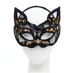 Leopard Mask on Headband