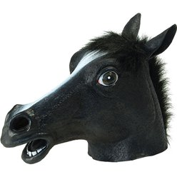 Black Beauty Horse Mask