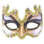 Gold Masquerade Mask (half face)