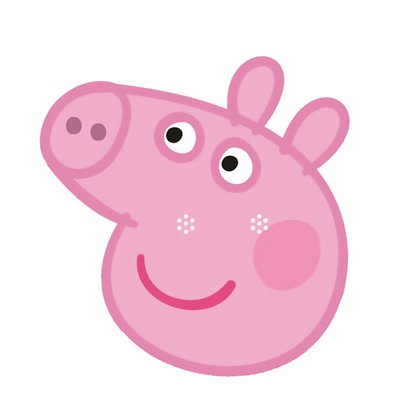 Peppa Pig Mask - Kids Party Masks front