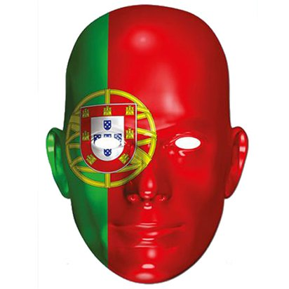 Portugal Flag Mask - Flag Face Mask front