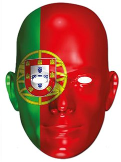 Portugal Flag Mask