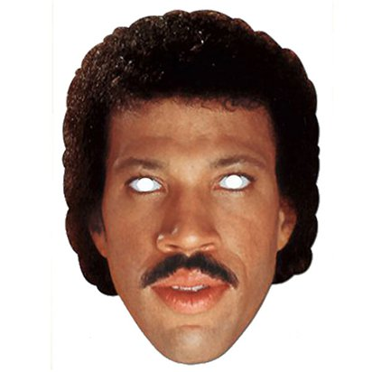 Retro Lionel Ritchie - Celebrity Mask front