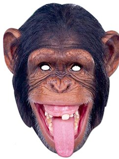 Chimpanzee Animal Mask
