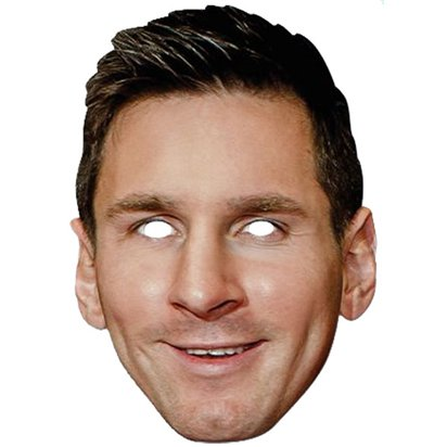 Lionel Messi Mask - Celebrity Face Mask front