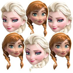 Disney Frozen Masks