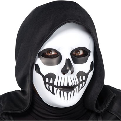 Horror Skull Mask - Adult Scary Halloween Mask front