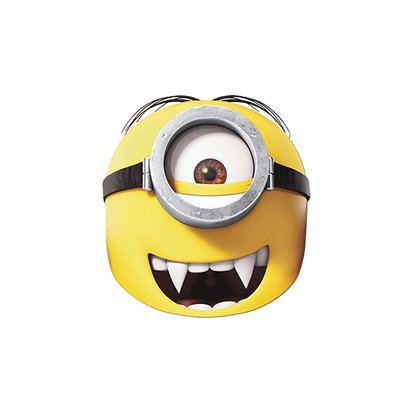Minions Gone Batty Mask - Kids Party Masks front