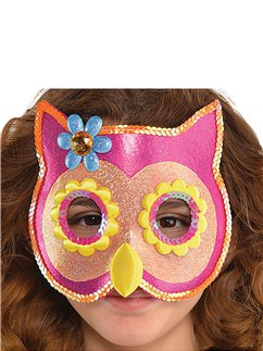 Owl Sequin Mask