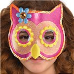 Children's Owl Sequin Mask