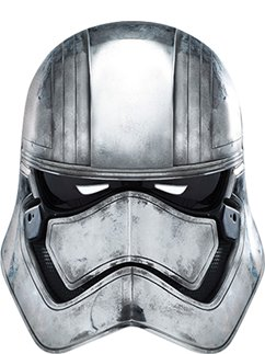 Captain Phasma Mask - The Force Awakens