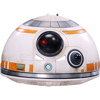 BB-8 Mask - Starwars Masks front