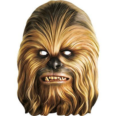 Chewbacca - Star Wars Mask