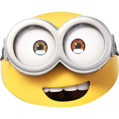 Minions Bob Mask - Kids Party Masks front