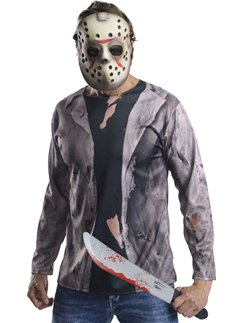 Jason Costume Kit - Halloween Mask