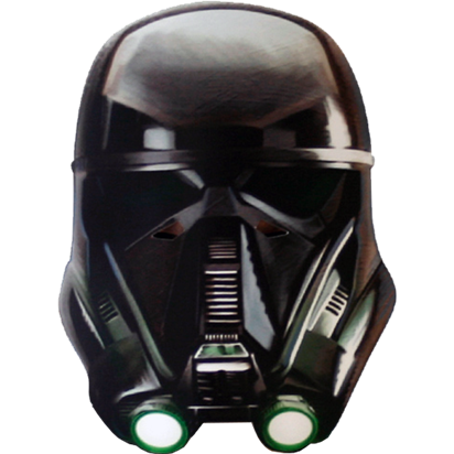 Death Trooper - Rogue One Mask front