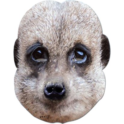 Meerkat Mask - Animal Masks front