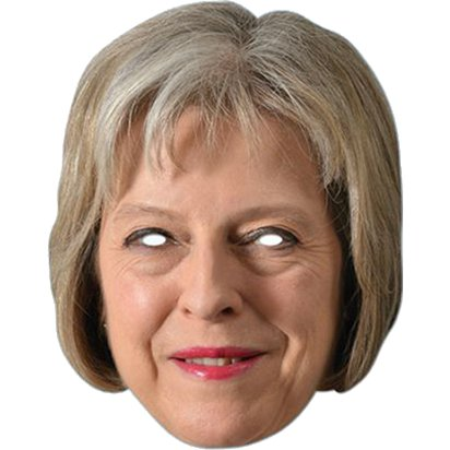 Theresa May Mask - Celebrity Masks front