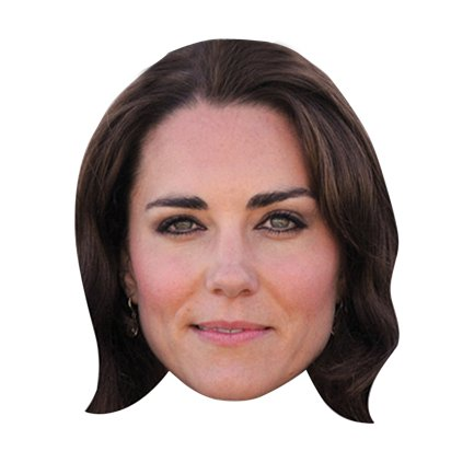 Kate Middleton Mask - Royal Family Celebrity Masks front