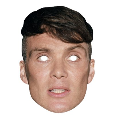 Cillian Murphy Mask - Thomas Shelby Peaky Blinders Celebrity Mask front