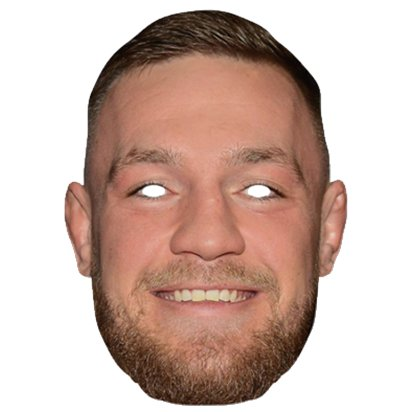 Conor McGregor Mask - Celebrity Mask  front