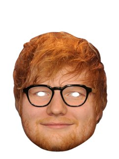 Ed Sheeran Mask