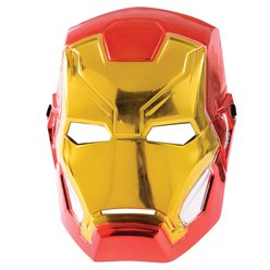 Iron Man Metallic Mask