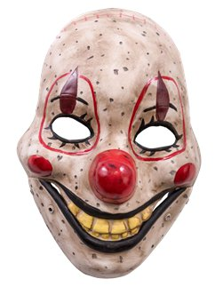 Clown Mask with Moving Jaw