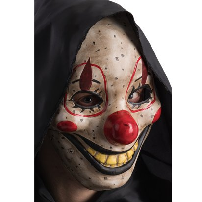 Clown Mask with Moving Jaw - Halloween Masks left