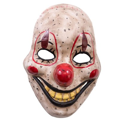 Clown Mask with Moving Jaw - Halloween Masks pla