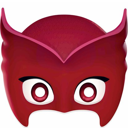 PJ Masks Owlette Mask - Girls Fancy Dress Accessories. front