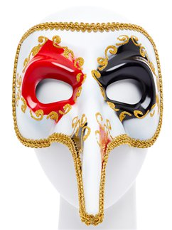 Venetian Long Nose Masquerade Mask